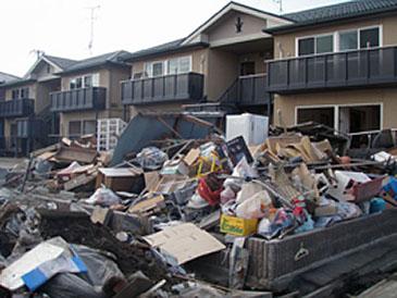 石巻市内 被災地の現状(5月初旬)