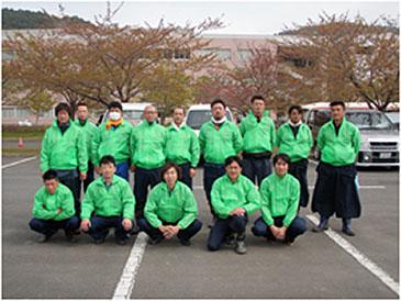 当社社員(8名を含む)にてボランティア参加